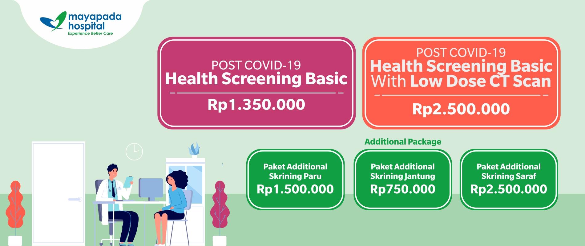 Paket Kesehatan Post Covid Recovery & Rehabilitation IMG