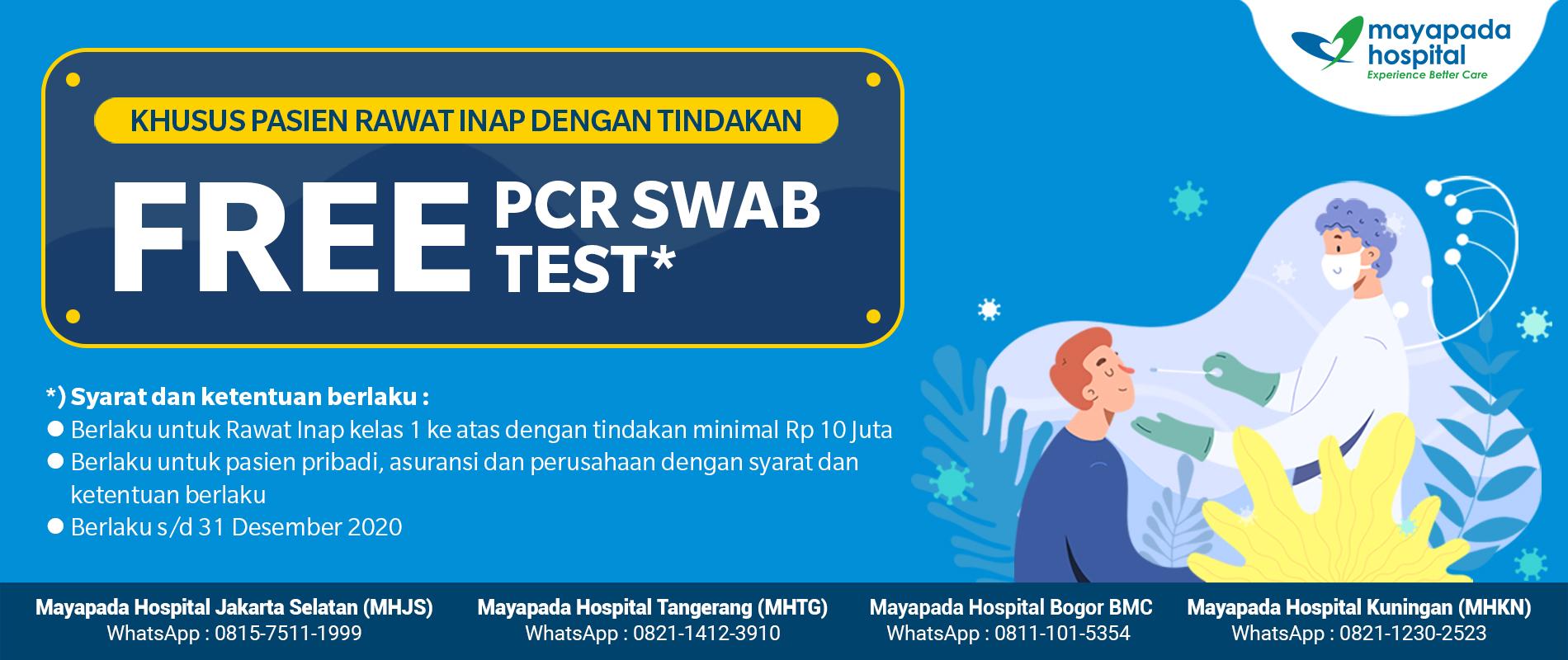 Gratis PCR Swab Khusus Pasien Rawat Inap IMG