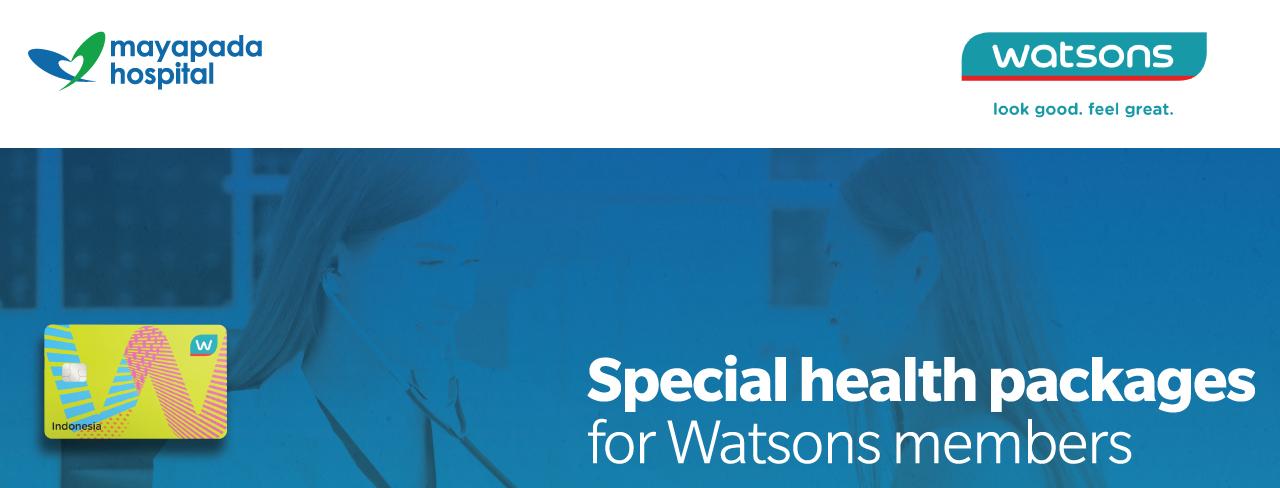 Promo Pelayanan Kesehatan untuk Member Watsons IMG