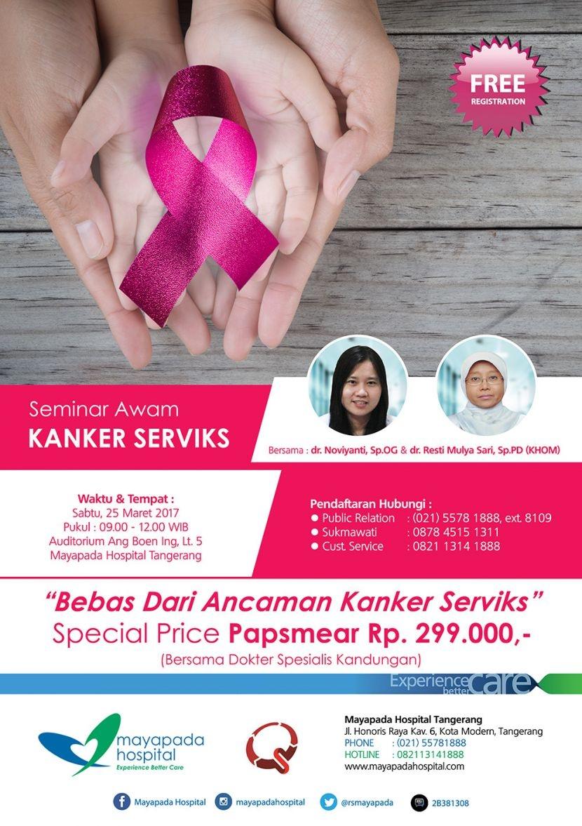 Mayapada Hospital | Seminar Awam Kanker Serviks